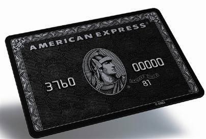 Black Amex on kallein american express centurion edellyttää 20.000 euron kuukausikulutuksen eli sen voi saada vain harvat ja valitut