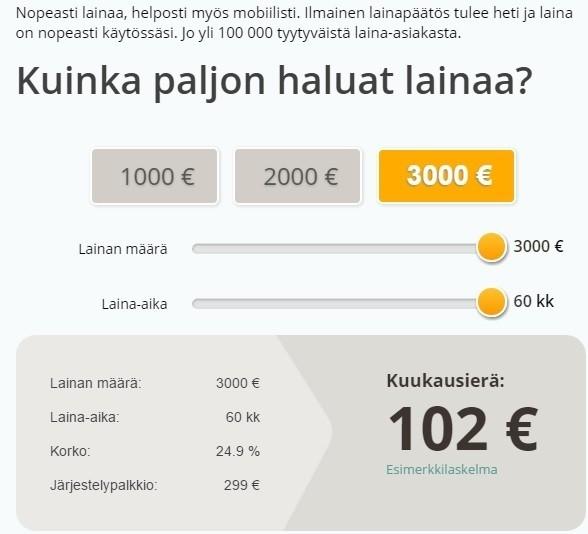 hae tyylillä vaikka mobiilissa ja liity yli 100 000 tyytyväisen cashbuddyn asiakkaan joukkoon