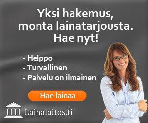 lainalaitos.fi ei ole lainaratkaisuna samanlainen kun kanssakilpailijansa vaan se on jotain ihan muuta, yksi hakemus, monen monta kilpailukykyistä tarjousta kulutusluotoista