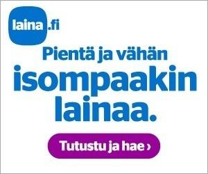 raha ratkaisee ja sitä laina.fi tarjoaa pienessä kuin vähän isommassakin muodossa