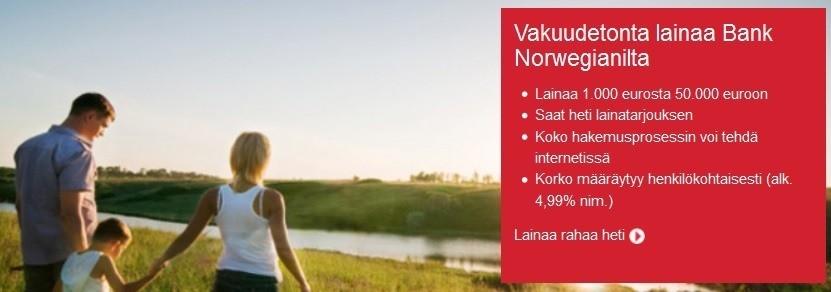 norwegian tunnetaan suomessa lentoyhtiönä mutta 2016 vuosi toi mukanaan meille myös sen pankkitoiminnan