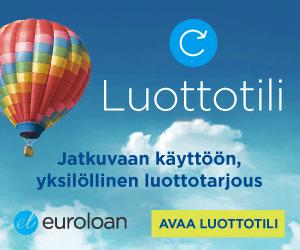 euroloan tililuotto express laina antaa kaikille yksilöllisen luottotarjouksen