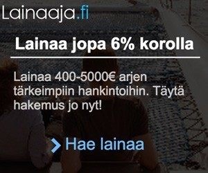 lainaaja.fi vertaislaina mahdollistaa jopa 6 prosentin koron kulutusluoton ja kalliimpaan ei kannata tyytyä