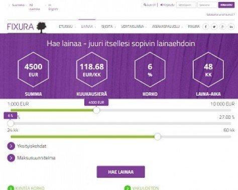 fixura on suomen ensimmäinen vertaislaina