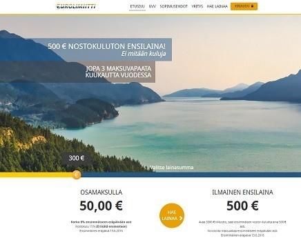 uusin pikavippi 2016 vuonna on Eurolimiitti joka lanseerasi ison 3.000e luottorajan tililuoton suomalaisille