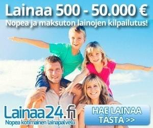 uusi lainaa24.fi on auttamatta halvin vakuudeton lainantarjoaja josta saat nopean luottopäätöksen jopa jo tänään