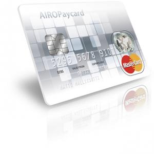 AIRO Paycard Mastercard luottokortti on 500 euron luottorajan kortti.