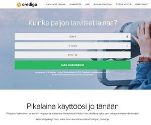 Credigolta saat pikalainapäätöksen heti ja maksun 10 minuutissa.