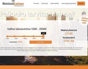 Maksuttomalla hakemuksella alle 10 minuutissa jopa 2250 euron lainaa!