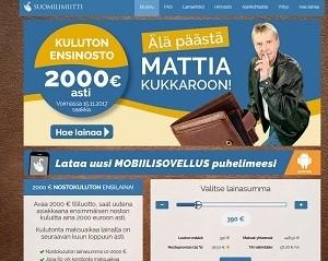Suomilimiitti kehoittaa, että Mattia ei kannata päästää kukkaroon ja sen se tekee mahdollisesti jopa 2000 euron kuluttomalla ensinostolla!