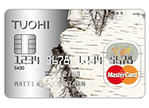 Tuohi -MasterCard luottokortti on kätevä limiitti arkisiin äkkikuluihin.