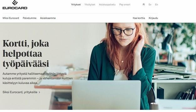 Eurocard Finland luottokortti helpottaa elämää ja työpäivää siinä samassa.