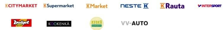 K-Ryhmään kuuluu kasvava määrä nettikauppoja, tavan kauppoja sekä muita kumppaneita.