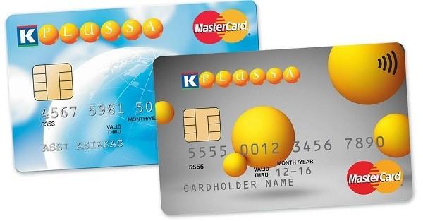 K-Plussa MasterCard luottokortti on vuosimaksuton ja siinä tulee mukana k-plussa -piste-edut.
