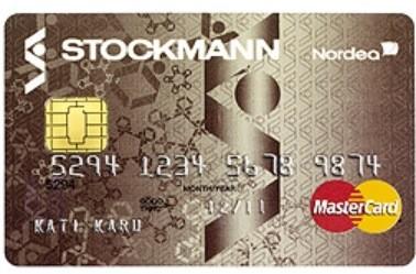 Stockmann Mastercardilla hoidat ostokset netissä ja saat jopa 10000 euron luottorajan.