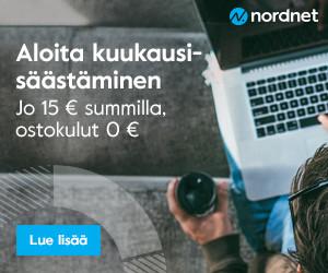 Nordnetin kuukausisäästämisen voit aloittaa koska vaan!
