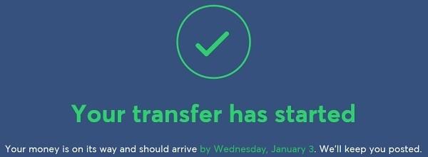 Ja valmista tuli, siirrä rahaa TransferWisellä ulkomailta Suomeen tai Suomesta ulkomaille vain 5 minuutissa.