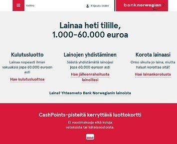 Digitaaliset lainapalvelut ja lainan korko ovat yrityksen aseita joilla se haukkaa suomenkin kilpailusta ajan kanssa varmasti tuhdin siivun