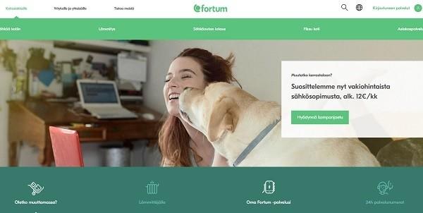 Fortum sähköyhtiö fiksuun kotiin ja vakiohintaisesti - tai mihin vain hyvillä kokemuksilla