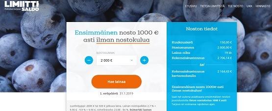 Hae nyt pikavippi 19-vuotiaalle lainapaikasta, jonka vippituote vanhin voitehista palvelu on rahoittanut jo puoli miljoonaa täysi-ikäistä suomalaista