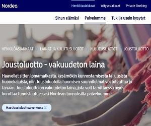 Nordea on pankkina vakaa ja kokemuksia siitä on jaettu jos jonkinlaisia