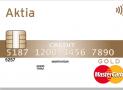 Aktia MasterCard Gold -luottokortti