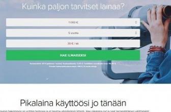 Credigo on kenties Suomen selkein kulutusluotto