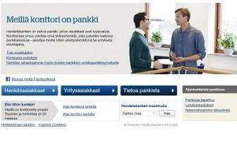 Handelsbanken – Pankkipalveluita jo vuodesta 1985.