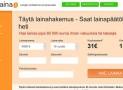 OmaLaina välittää vakuudetonta lainaa 100-60.000€