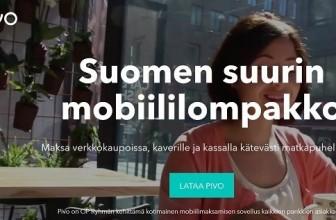 Pivo: Suomen suurin mobiililompakko.