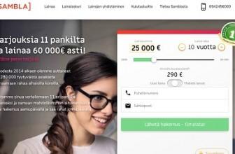 Sambla – Lainaa helposti 500-60.000 euroa