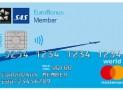 SAS Eurobonus World Mastercard -luottokortti.