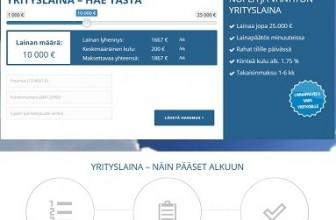 Suomenyrityslaina.fi – Vertailun halvin yrityslaina!