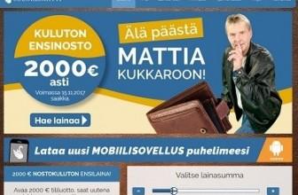 Suomilimiitti – Hae jopa 2000€ ensilaina ilmaiseksi