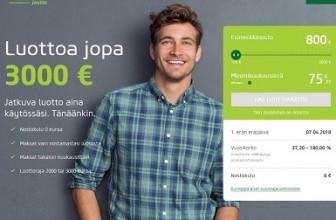 Vivusjousto – Ei avausmaksua, luottoa jopa 2000-3000 euroa.