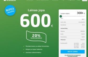Vivus.fi – Lainaa tuossa tuokiossa tilille!